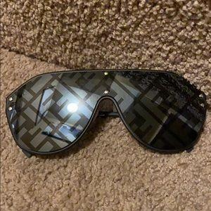 147mm Logo Lens Shield Sunglasses